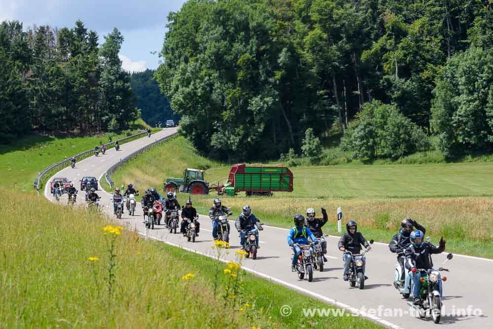1. Moped Xtreme 2017: Auf 50 ccm durch's Ländle